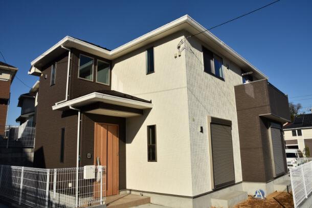 家の外観イメージ